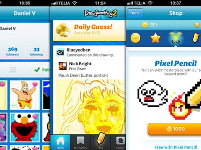Draw Something 2 est disponible sur l'AppStore