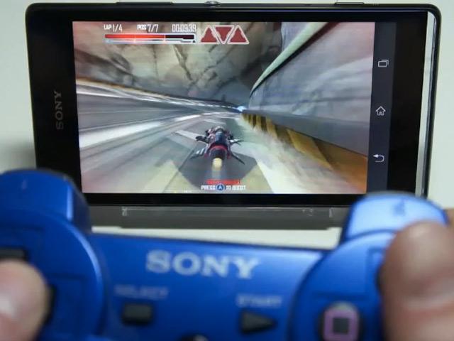 DualShock 3 sur Sony Xperia
