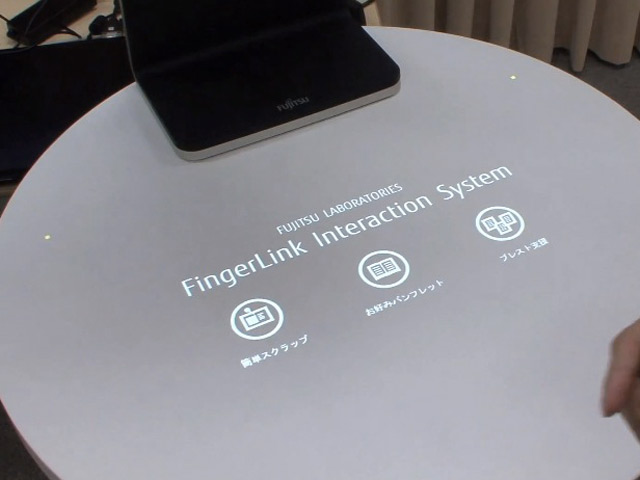 FingerLink Interaction System par Fujitsu