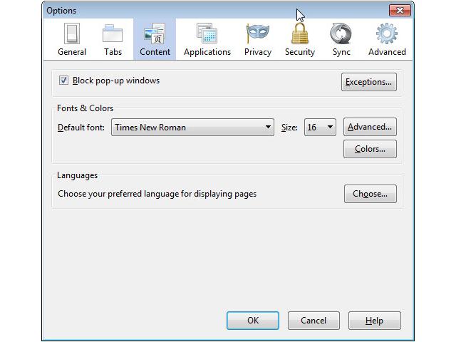 Firefox : suppression de l'option de désactivation du JavaScript