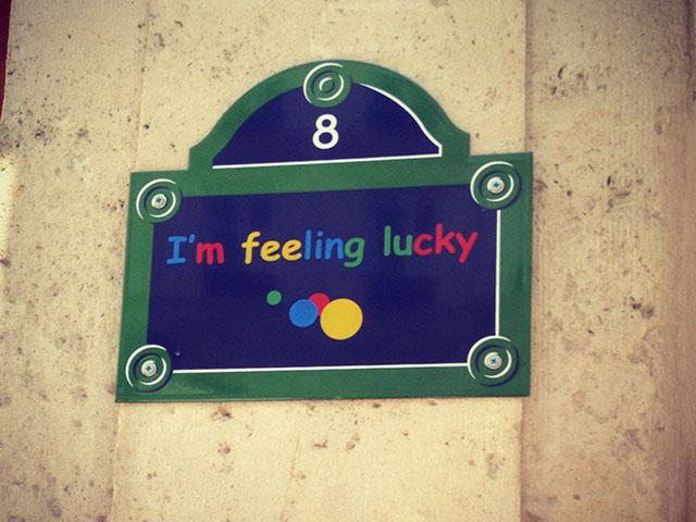 """Google France : """"I'm feeling lucky"""""""