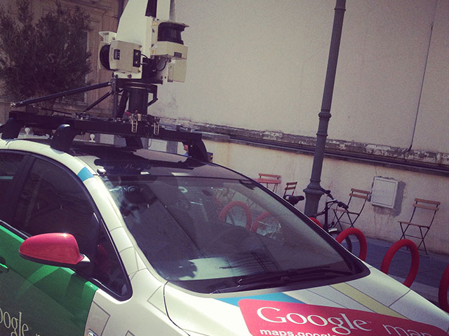Google France : une Google Car