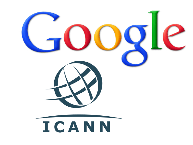 Google et ICANN