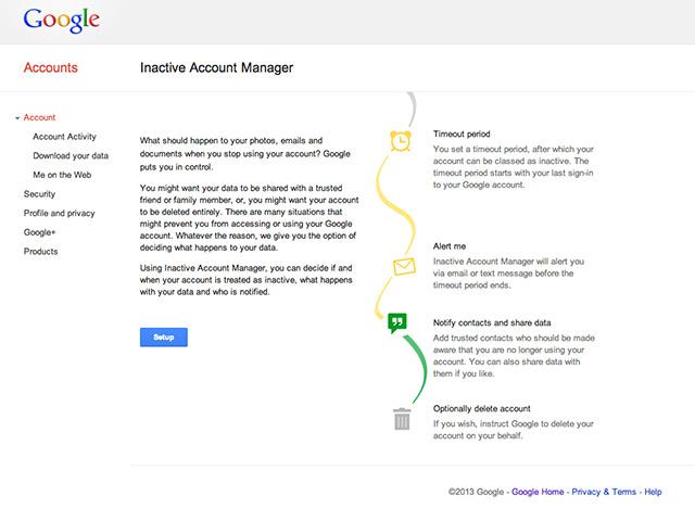 Google nous aide à gérer notre mort