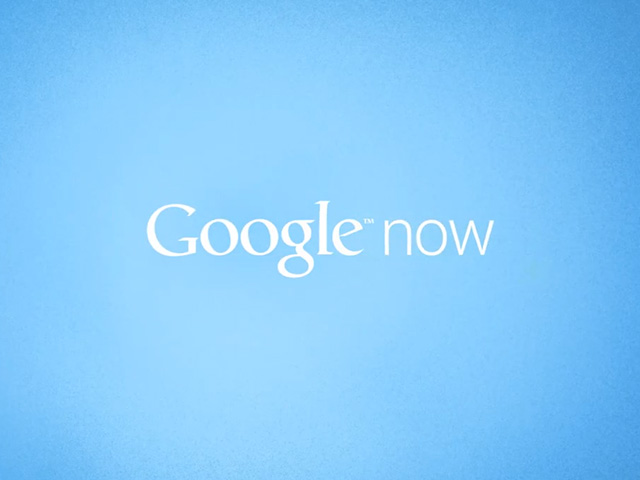 Google Now dans Canary Windows