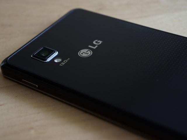 LG Optimus G : la coque arrière