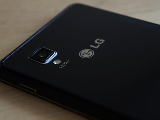 LG Optimus G : le capteur