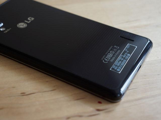 LG Optimus G : le haut parleur