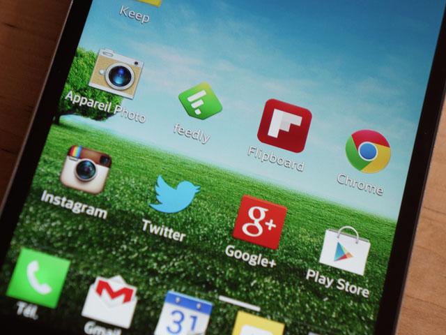 LG Optimus G : les écrans d'accueil