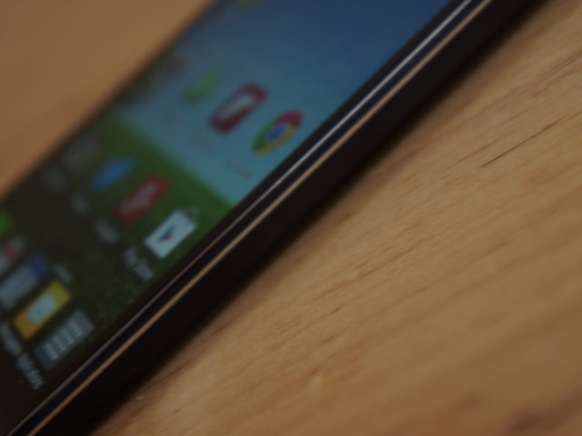 LG Optimus G : le bouton de mise sous tension
