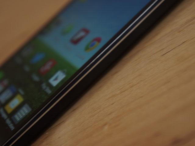 LG Optimus G : le bouton de mise sous tension