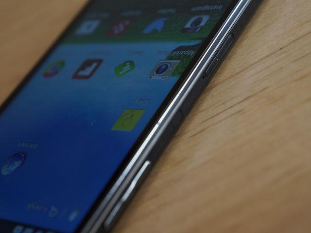 LG Optimus G : contrôles du volume
