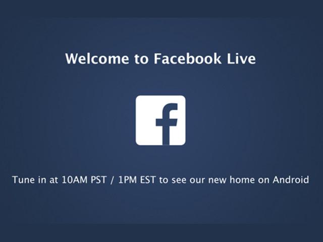 Suivre la conférence de presse de Facebook en direct