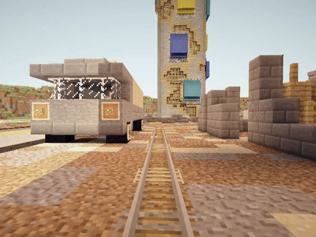 Battlefield 4 dans Minecraft