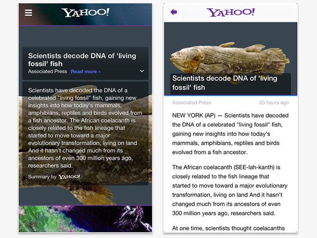 Yahoo! iOS