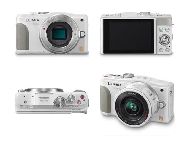 Panasonic GF6 Blanc