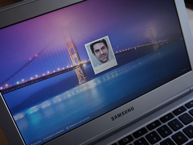 Chrome OS : l'écran de connexion
