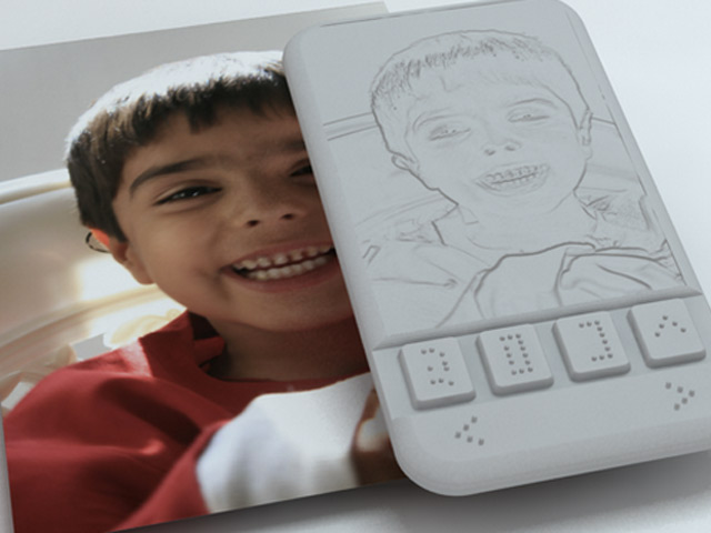 Smartphone braille