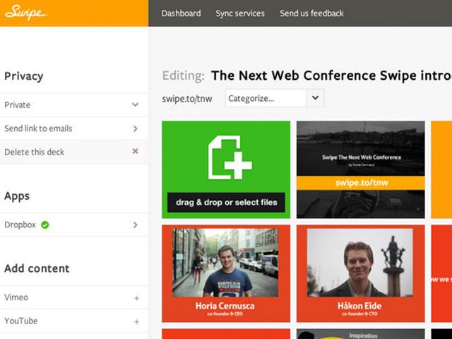 Swipe : PowerPoint dans ton navigateur