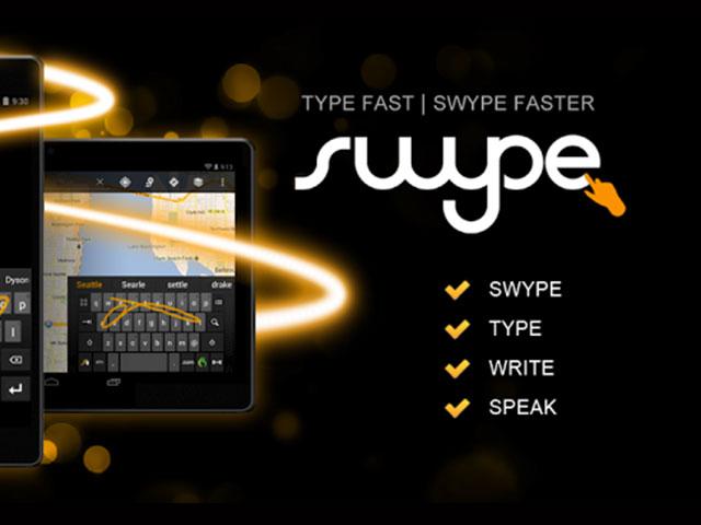 Nuance : Swype dispo sur le Play Store