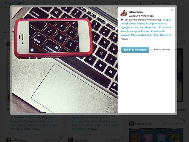 Tagboard : tous les hashtags de vos réseaux sociaux au même endroit