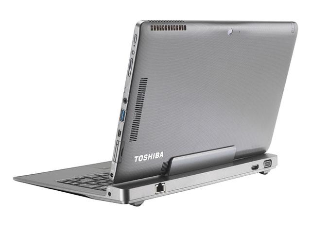 Toshiba Portégé Z10t : vue de dos