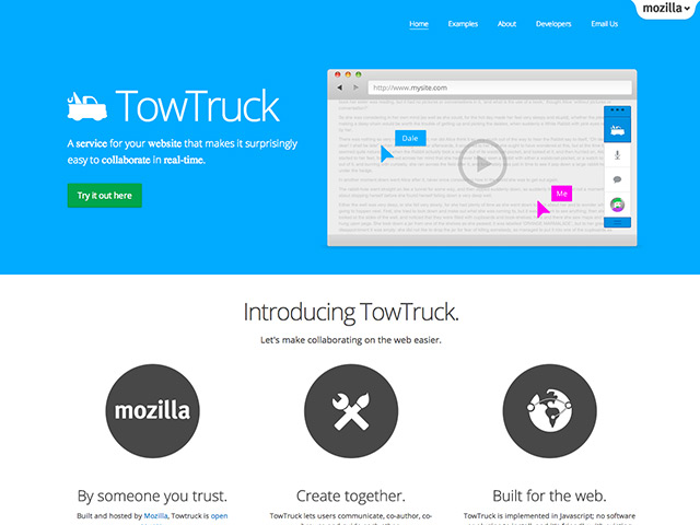 TowTruck : un outil de collaboration par Mozilla