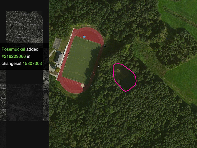 Visualiser OpenStreetMap