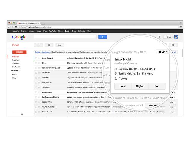 """Gmail : les """"actions rapides"""""""