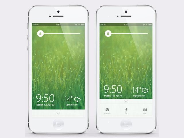 iOS 7 : l'un des plus beaux concepts du moment