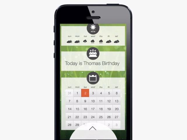 Encore un concept pour iOS 7