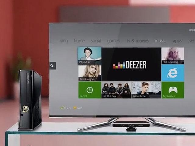 Deezer Xbox 360