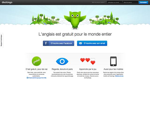 Duolingo, apprendre une langue étrangère gratuitement