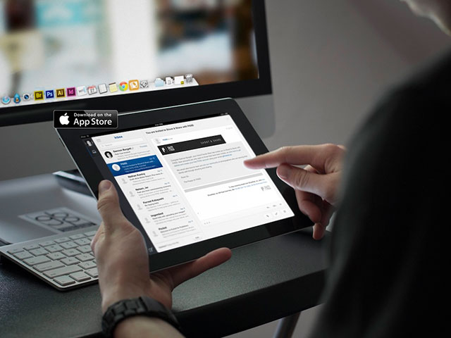 Evomail : un client mail pensé pour l'iPad