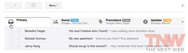 Gmail : nouvelle version desktop
