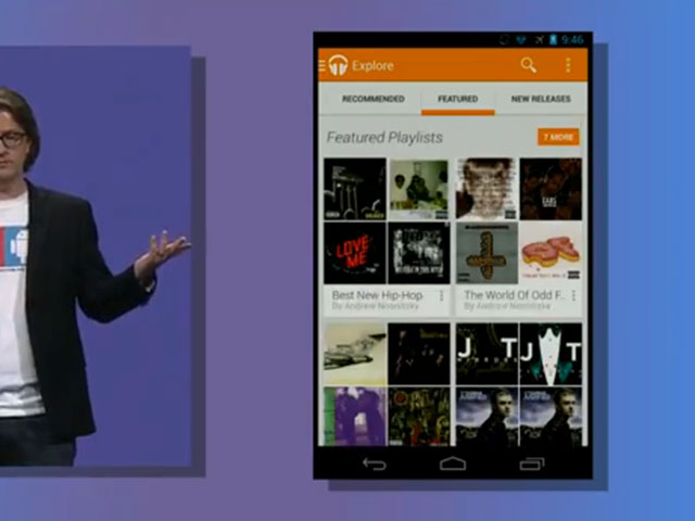 Google Play Music All Access : une première image