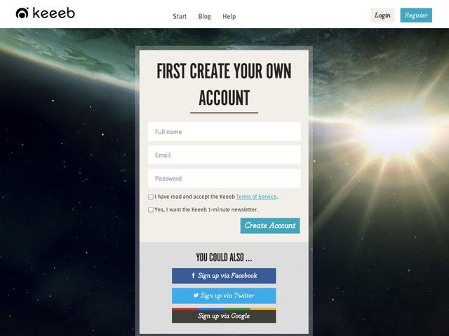 Keeeb : l'identification