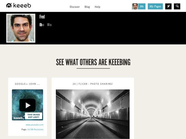 Keeeb : les découvertes