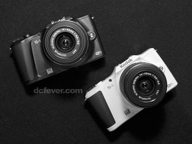 Kodak S1 : en noir ou en blanc