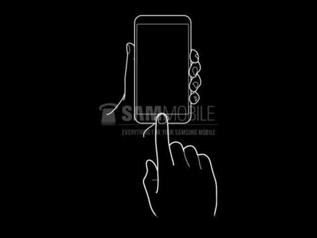 Samsung : vers un lecteur d'empreintes digitales