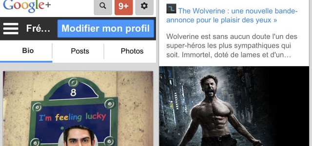 Google+ : nouvelle version mobile