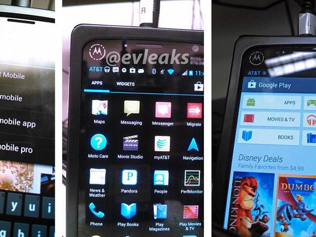 Motorola X Phone : les premières photos en vadrouille ?