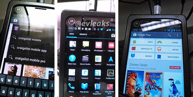 Motorola X Phone : vue de face