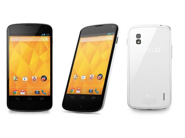 Nexus 4 blanc : il est officiel !