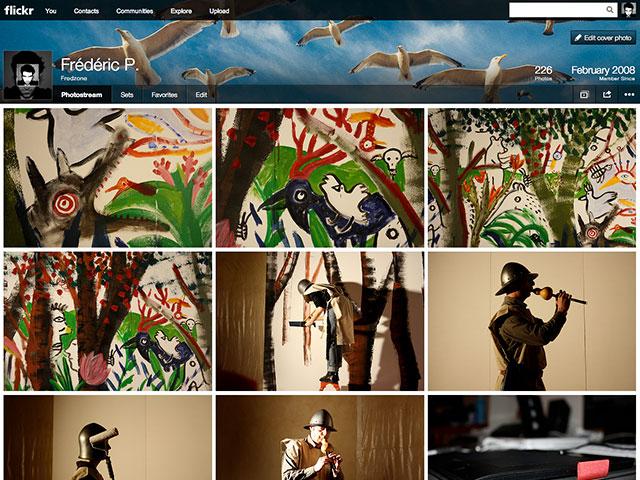 Flickr : le nouveau profil