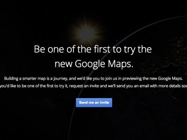 Google Maps, une nouvelle version