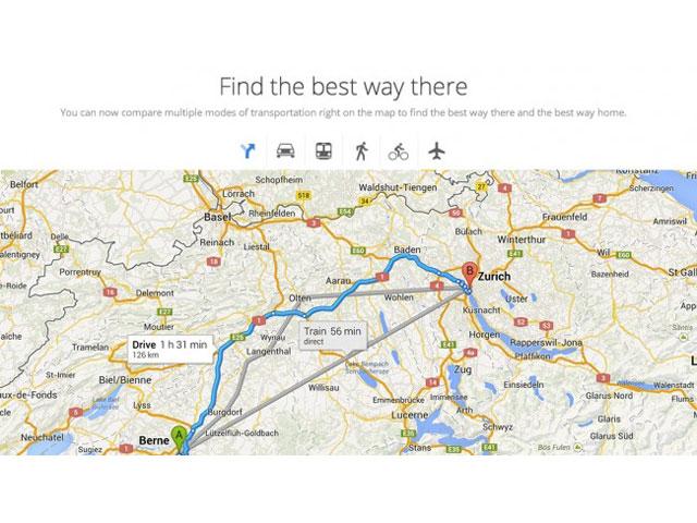 Google Maps : intégration des données de transport