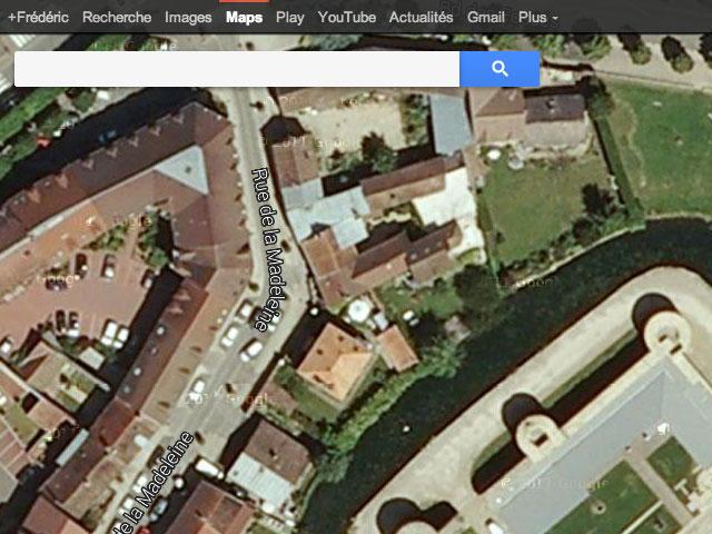 Google Maps : la vue satellite
