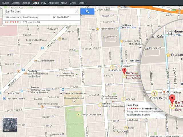 Google Maps : une nouvelle version plus intelligente