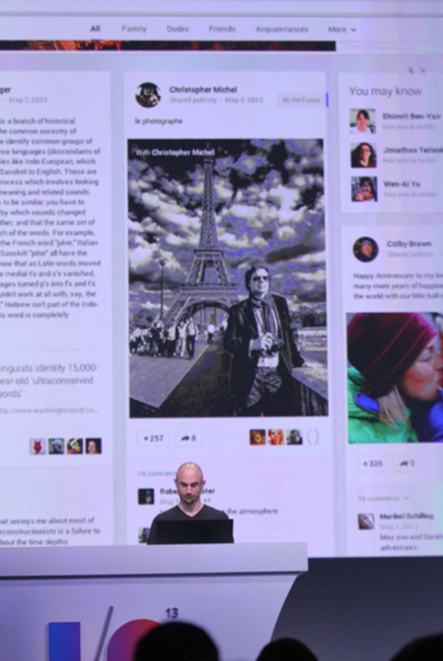 Google+ 2013 : une seconde image